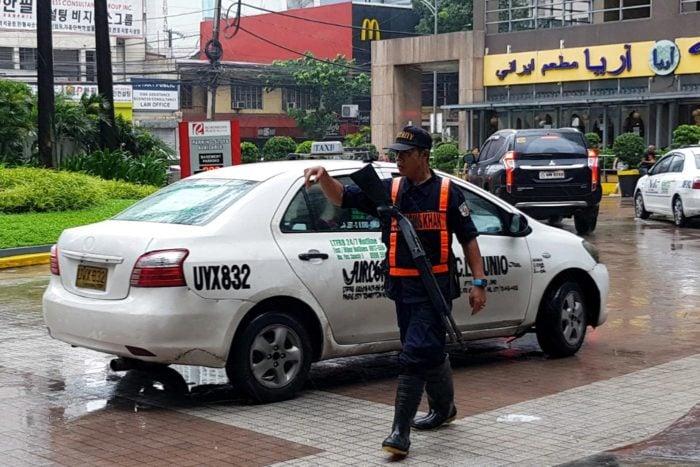 Agente seguridad Filipinas