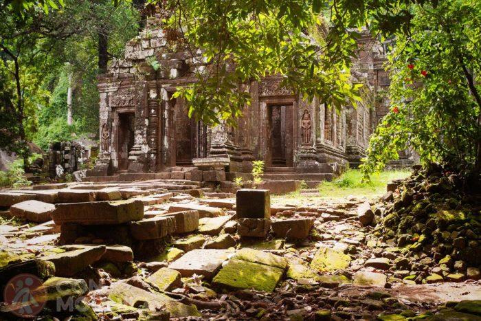 Ruinas Wat Phou