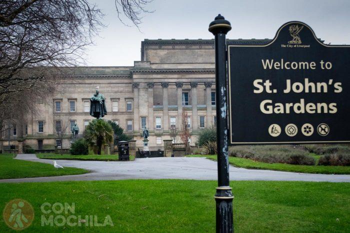 St Johns garden's