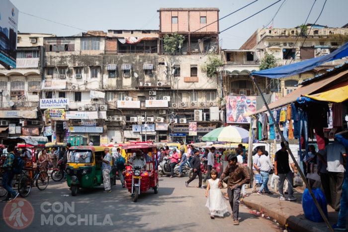 Bienvenidos a Old Delhi