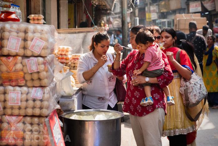 Más vida en Old Delhi