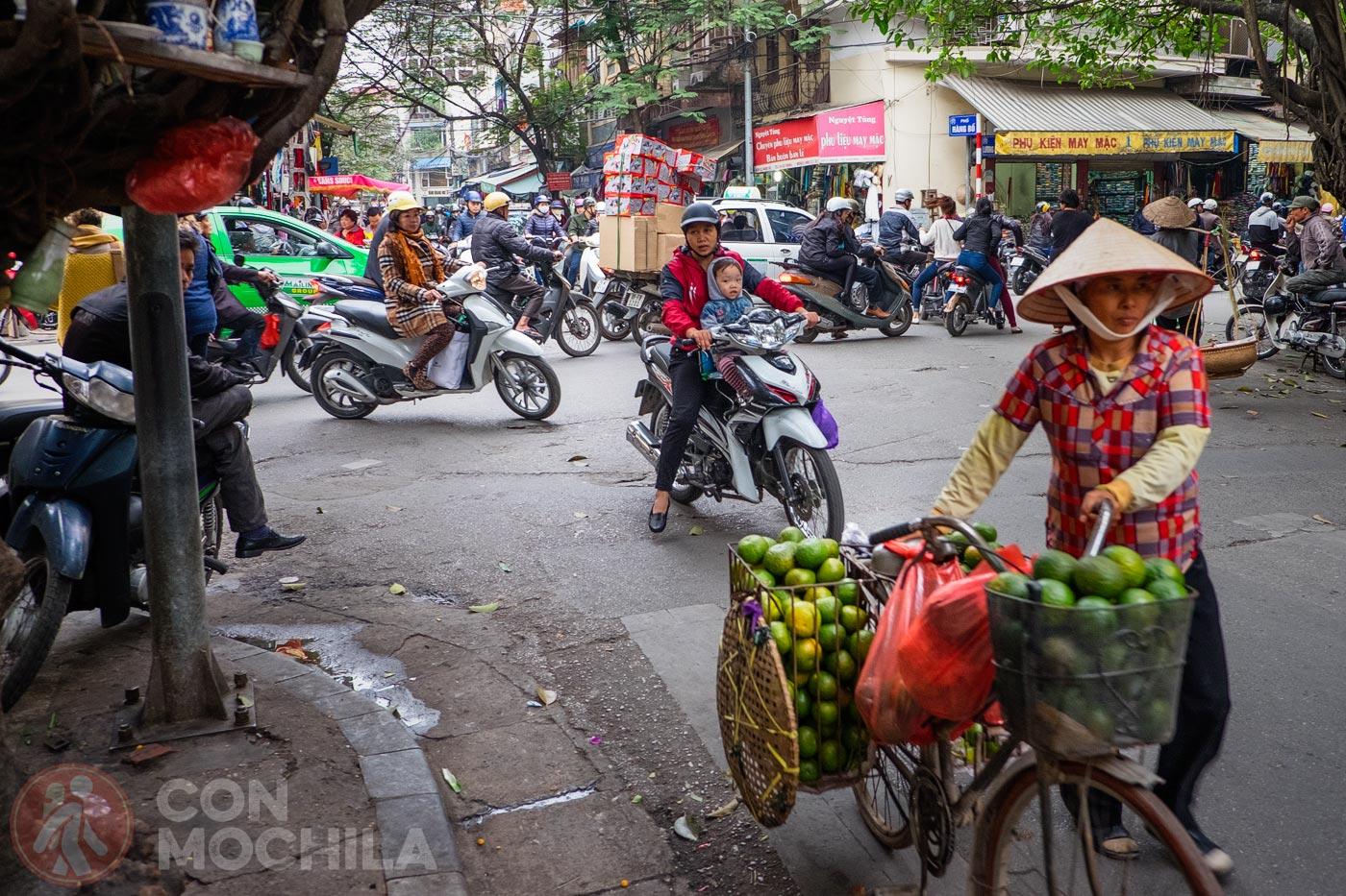 Old quarter de Hanoi