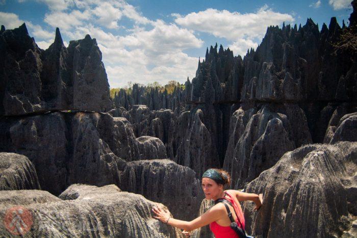 Las formas puntiagudas del Grand Tsingy