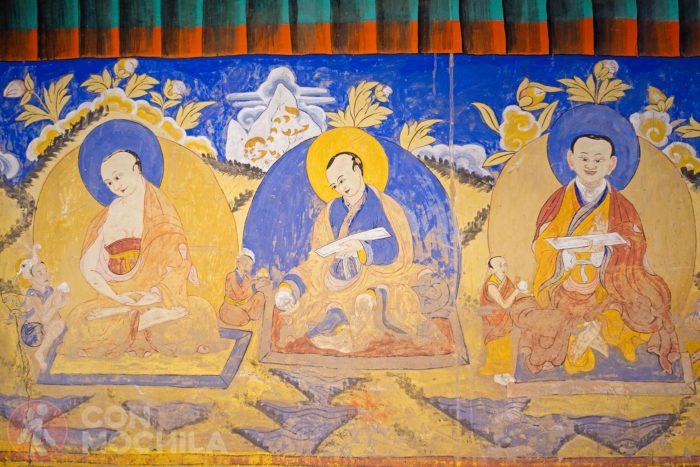 Detalle de un mural