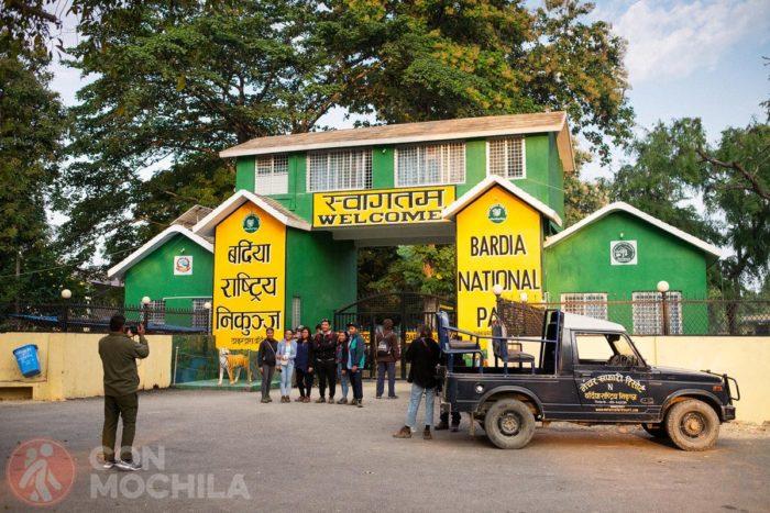 Bienvenidos a Bardia National Park