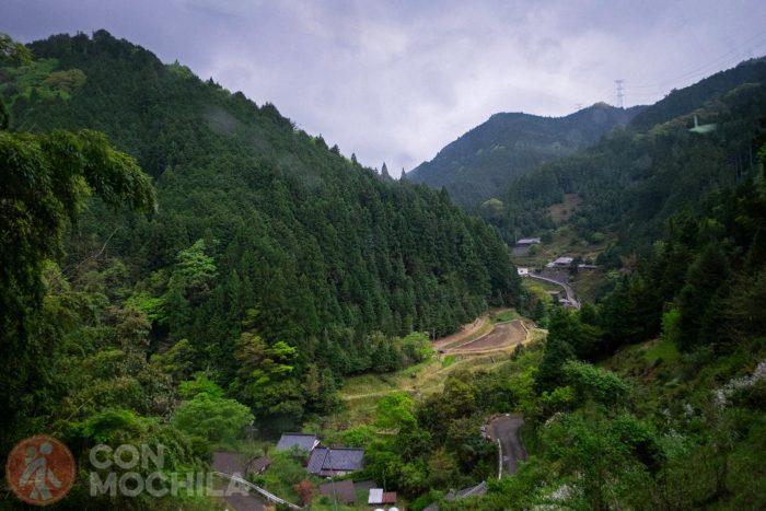 Vistas desde el tren a Koyasan