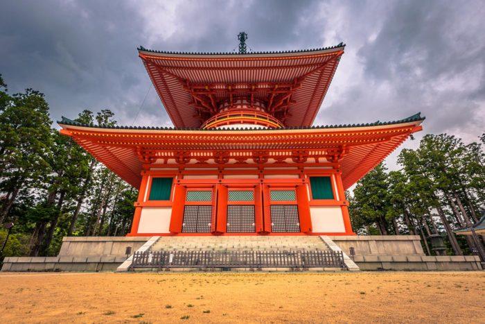Uno de los edificios del Danjō-garan