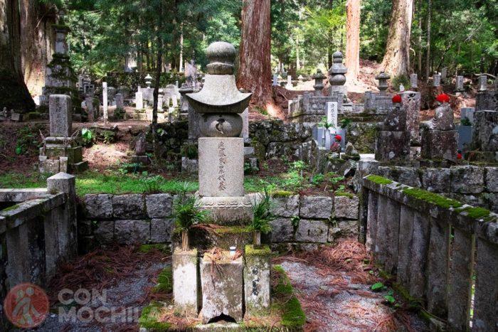 Detalle de una tumba