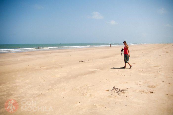 Toda la playa para mí