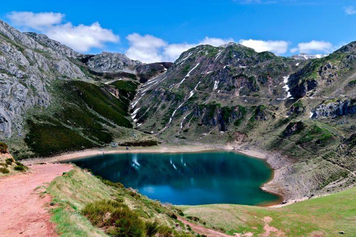 Lago en el Parque Natural de Somiedo