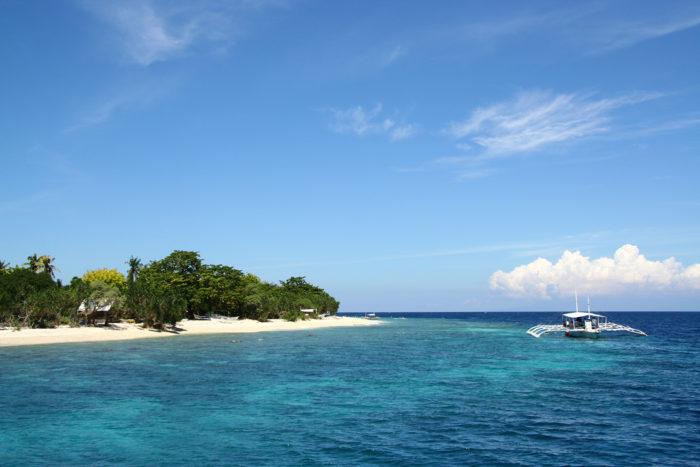 Island hopping en Bohol