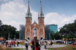 Notre Dame Cathedral en Ho Chi Minh