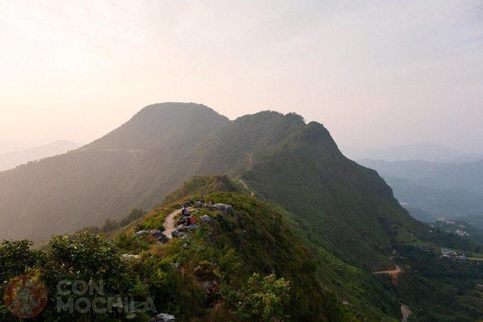 Vistas desde la Gurungche hill