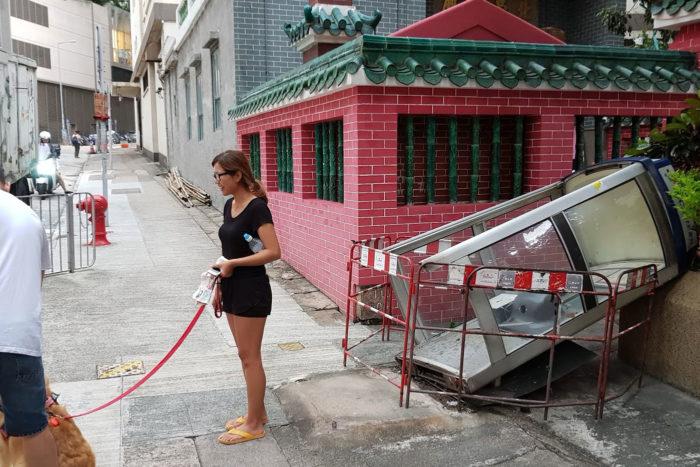 Mangkhut Hong Kong