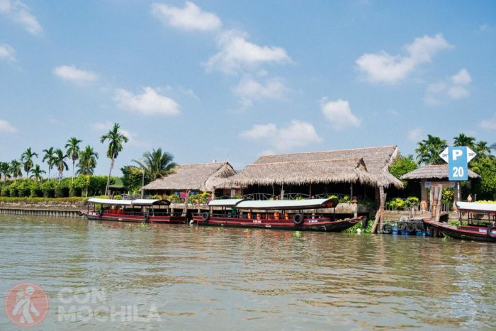 Mekong lodge, a orillas del río