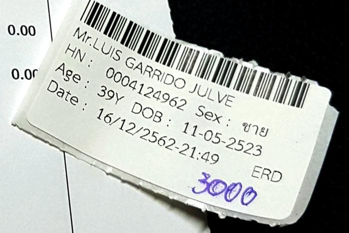 factura médico