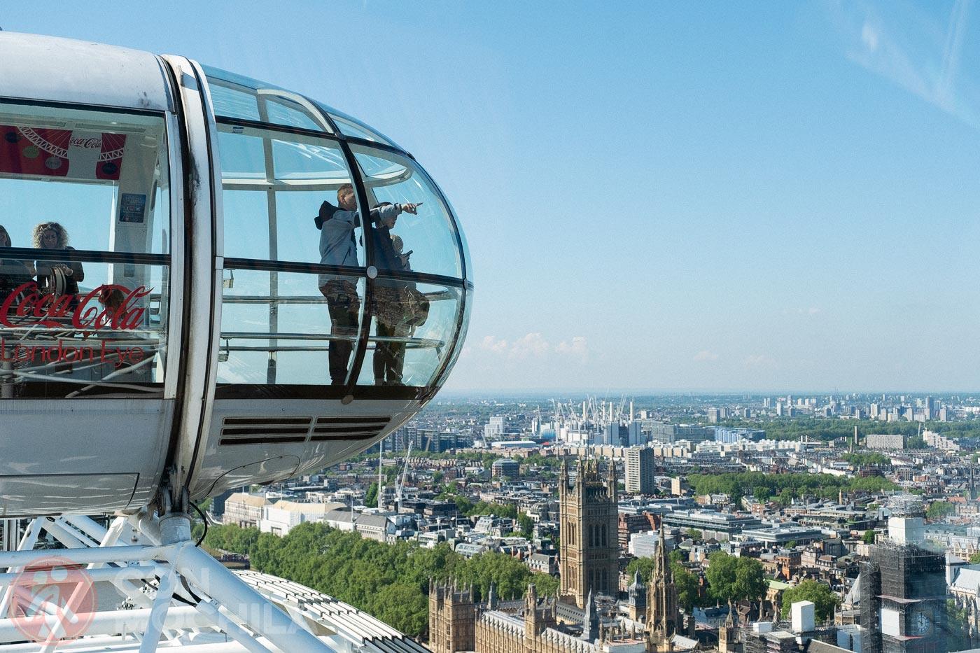 Un punto de vista de Londres de lo más peculiar