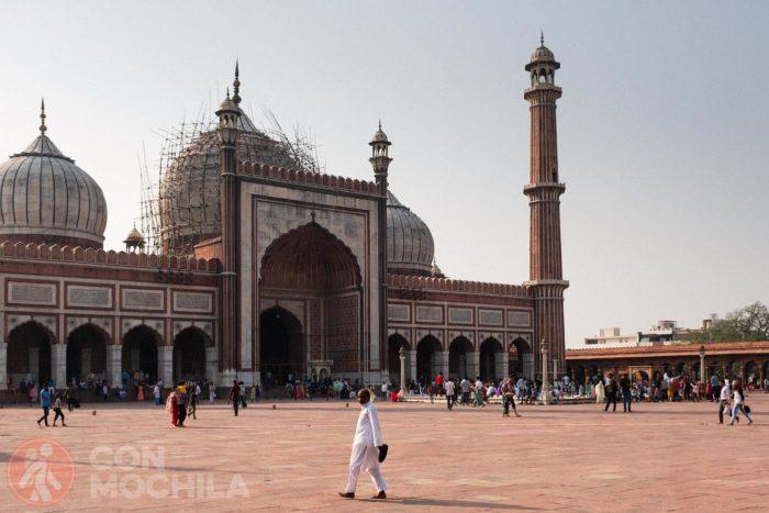 No debes perderte la visita a la Jama Masjid