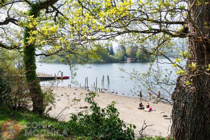 Descanso en un lago cualquiera del Lake District