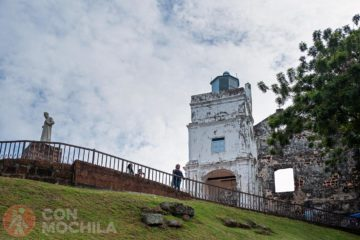 St Paul Church Melaka