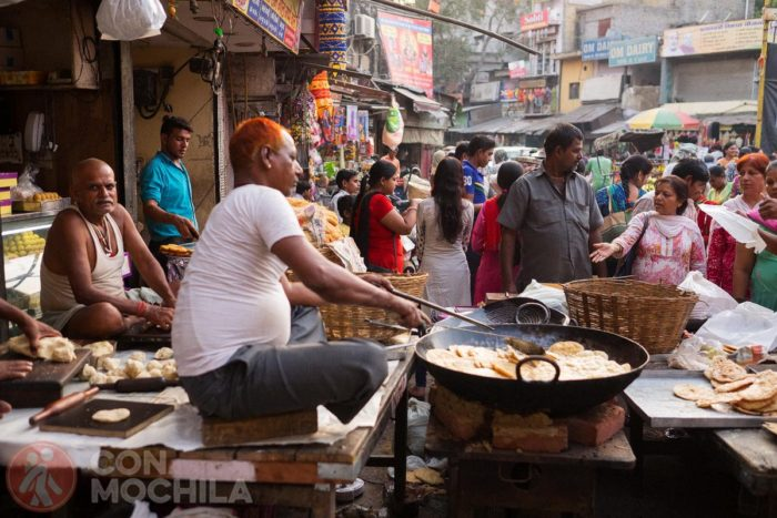 Comida callejera en todas partes