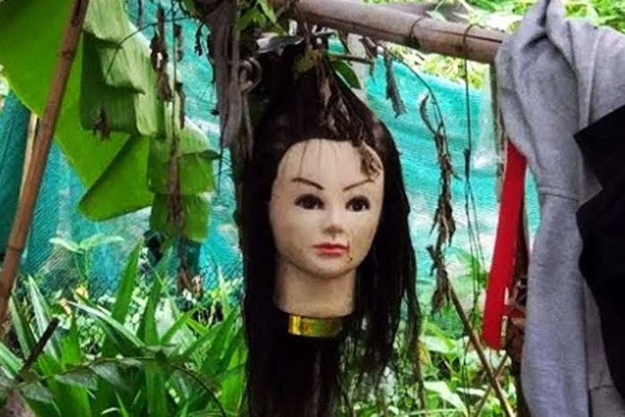 Muñeca macabra Tailandia