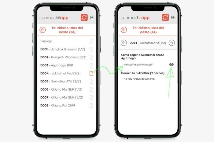 La versión 1.0 de nuestra app