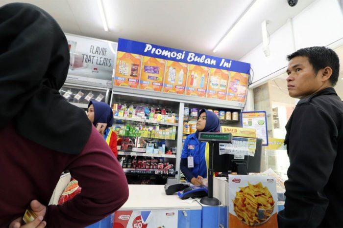 supermercado indonesia