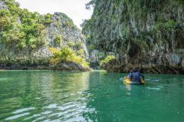 Kayak en Phuket