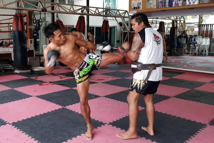 Muay Thai gimnasio Bangkok