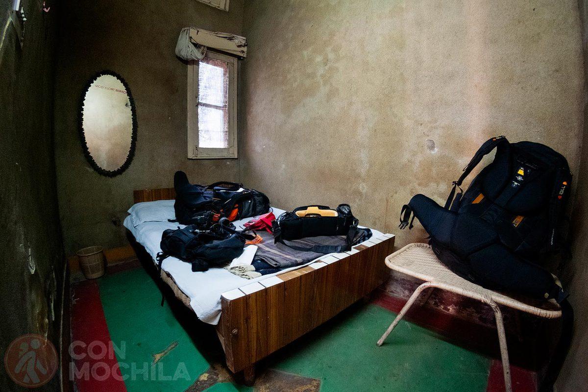 Una habitación poco acogedora