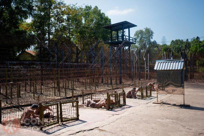 Castigo de los presos en las tiger cage