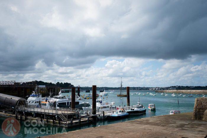 Villa portuaria, bienvenidos a Saint-Malo