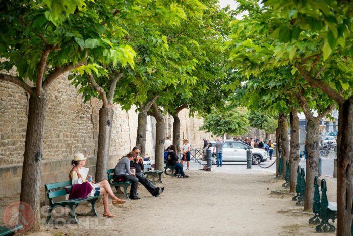 Turistas en Saint-Malo