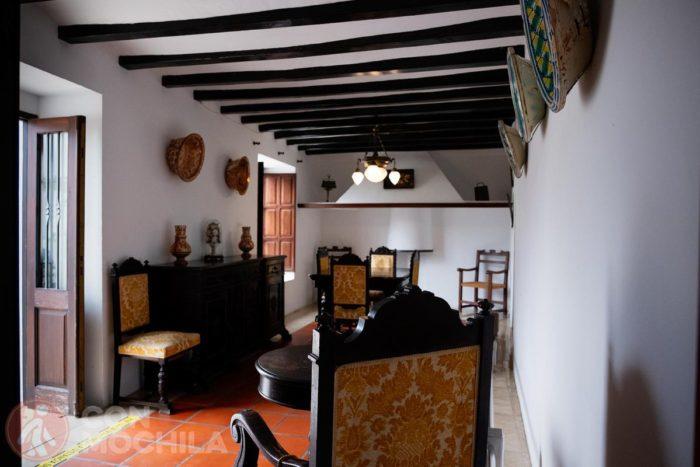 Interior de la casa Orduña