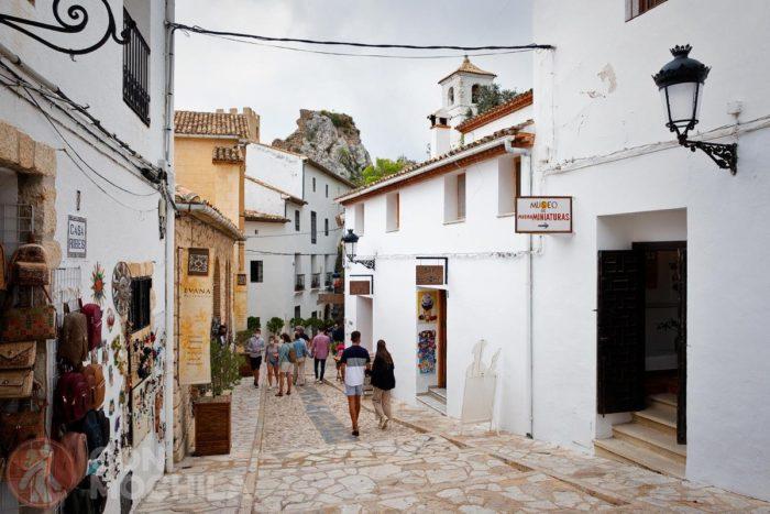 De camino al castell de Guadalest