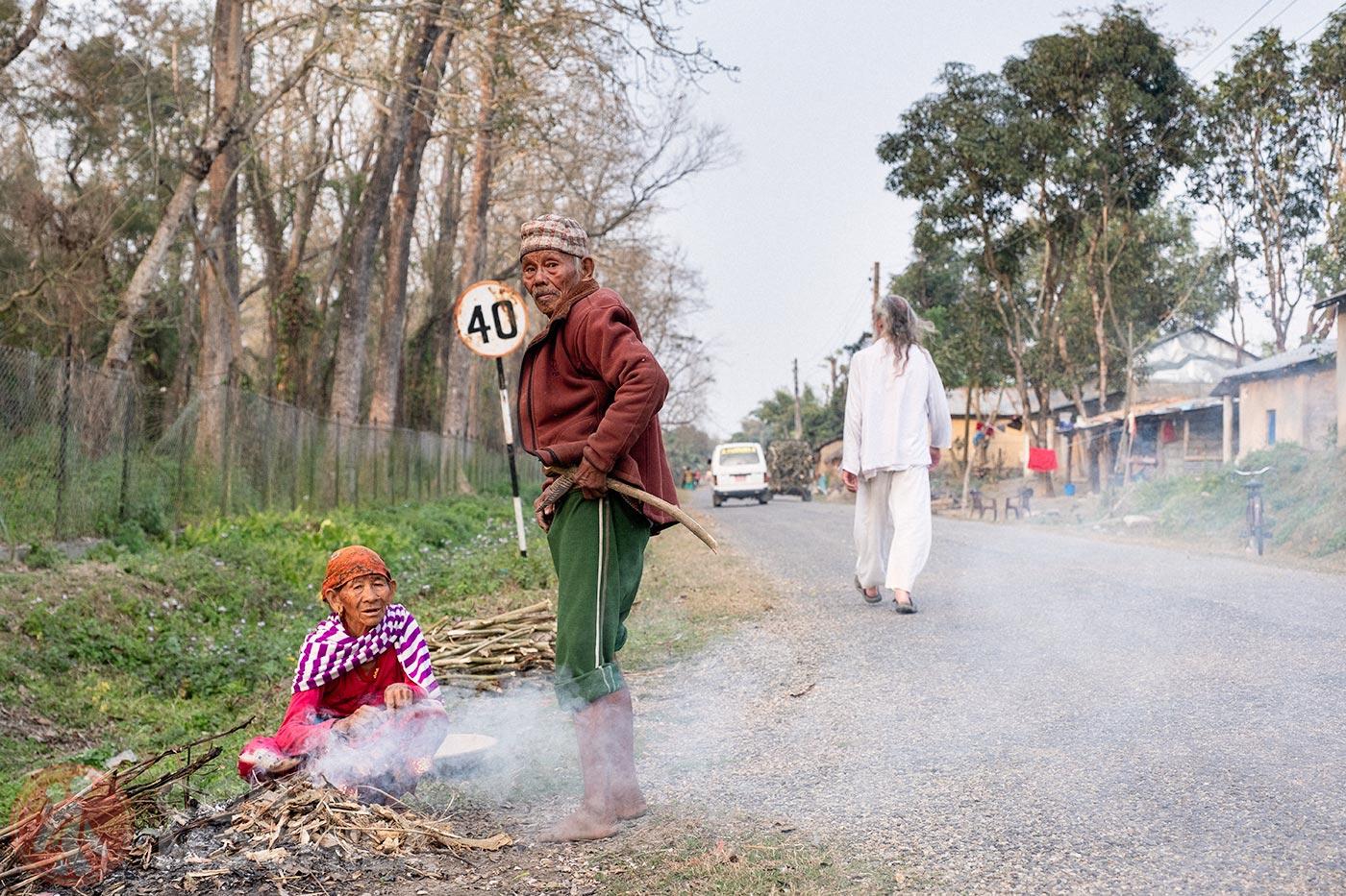 La crónica cósmica. Movida: extender mi visado nepalés