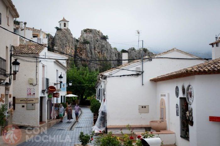 Guadalest: el castell y el casco antiguo