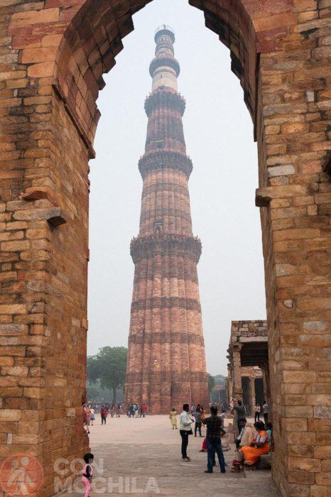Otra perspectiva del minarete