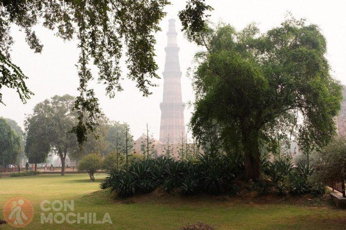 Pero el minarete es visible desde casi cada esquina