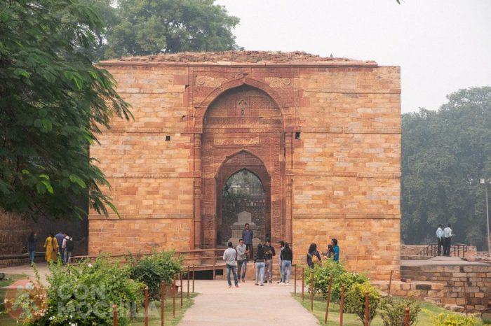 Entrada de la tumba de Iltutmish