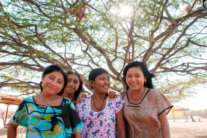 Wayuu en el desierto de La Guajira, Colombia