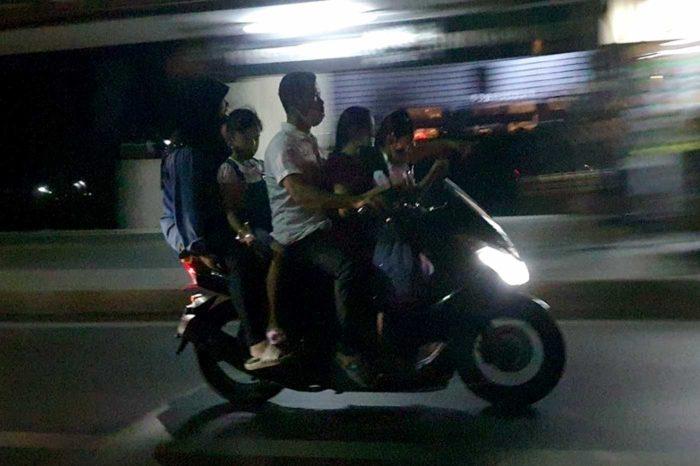 Una familia en Bangkok demuestra que lo de que se aplique la Ley, por estos lares, es algo que cuesta lo suyo.