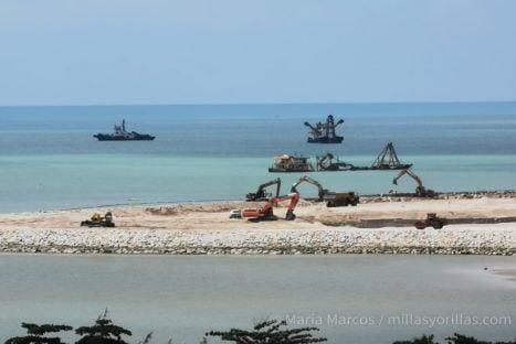 """Robar terreno al mar para crear ciudades """"sostenibles"""""""